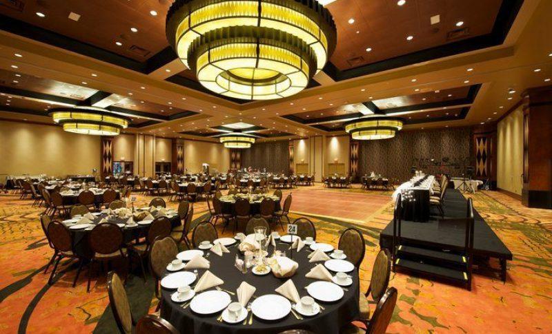 Wedding reception at the Menominee Casino Resort