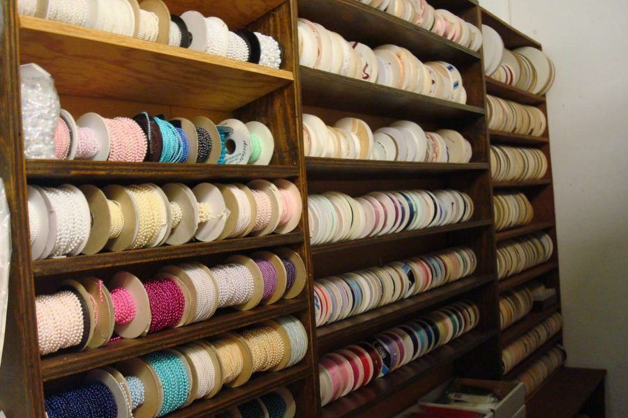 Marlene's Wedding Accessory Shoppe- Ribbon selections