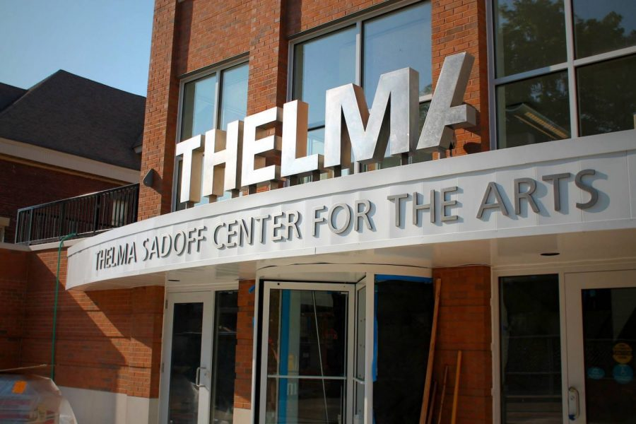 Exterior of the Thelma Sadoff Center for the Arts