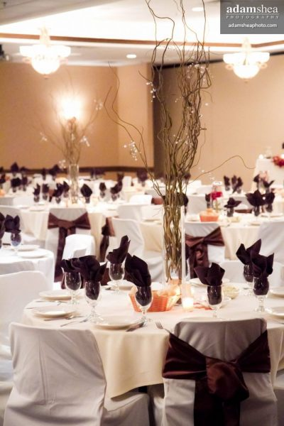 Wedding reception at The Swan Club in De Pere, WI