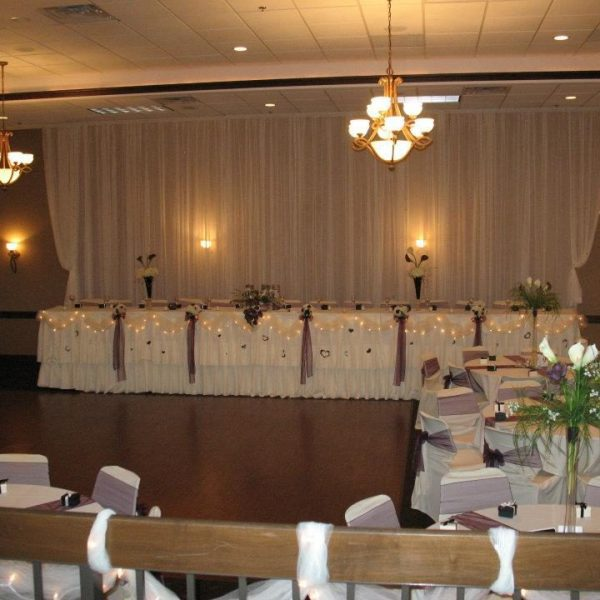 Head table at The Swan Club
