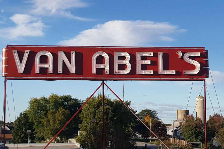 Van Abel's of Hollandtown signage