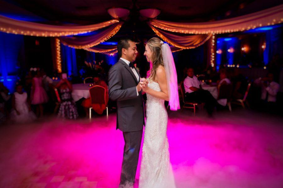 First dance at an Osthoff Resort wedding