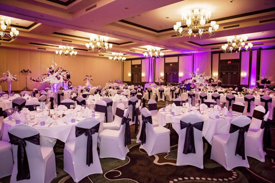 Wedding reception at the Osthoff Resort in Elkhart Lake, WI