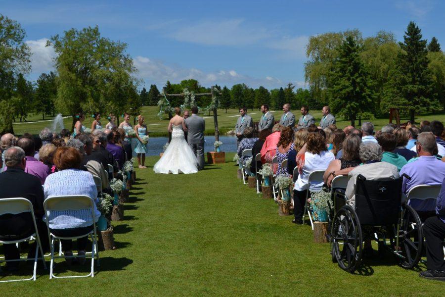 Wedding Ceremony at Fox Hills Resort