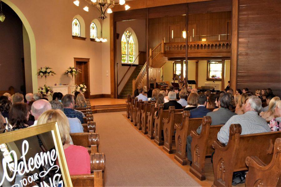 Devotions Wedding Chapel wedding ceremony