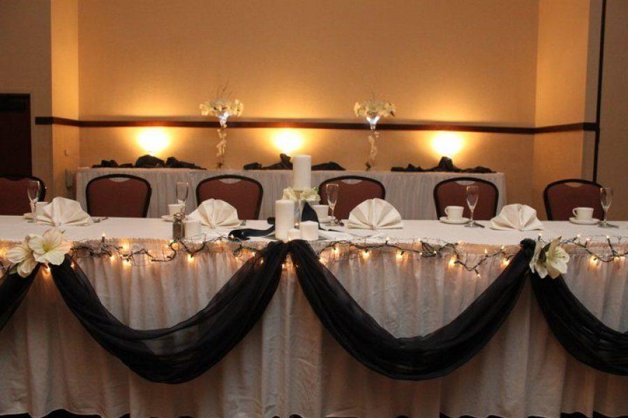 Head table Holiday Inn Stevens Point , WI