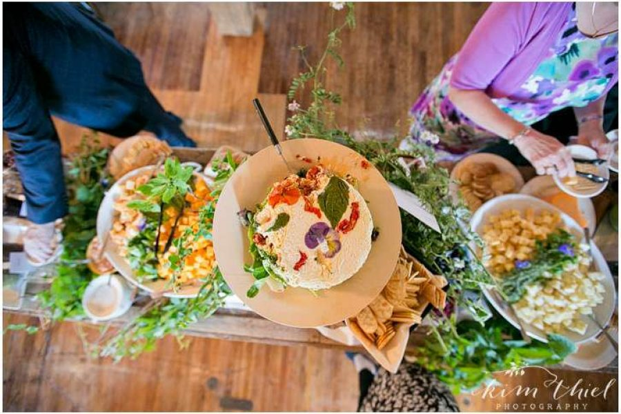 Food buffet at a Carstens Mill wedding