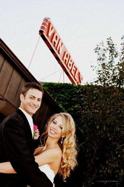 Bride and Groom- Van Abels