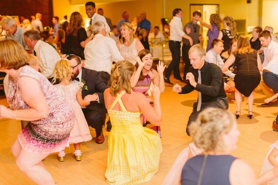 Wedding reception dance | The Bemis Conference Center & Michels Ballroom