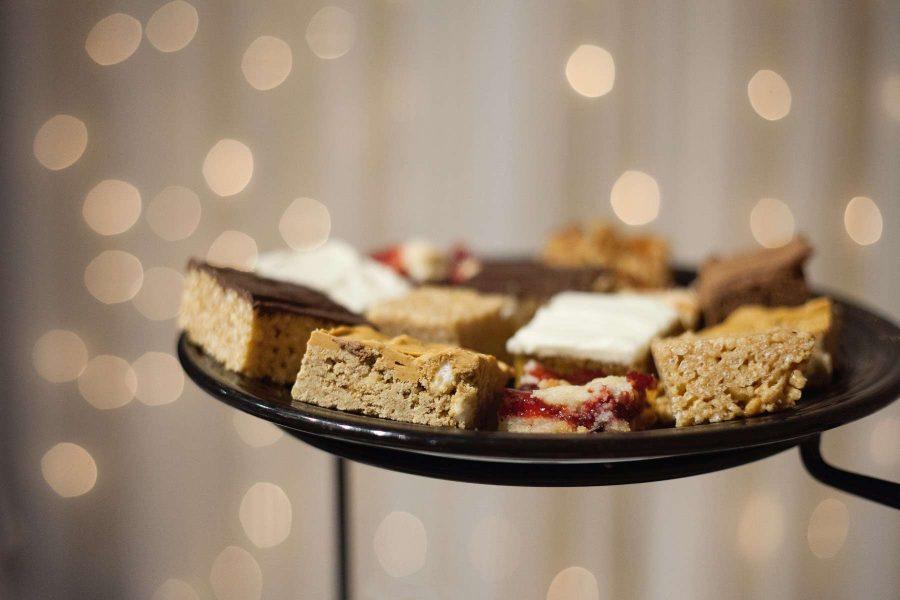 Van Abel's dessert tray | Fox Valley Weddings