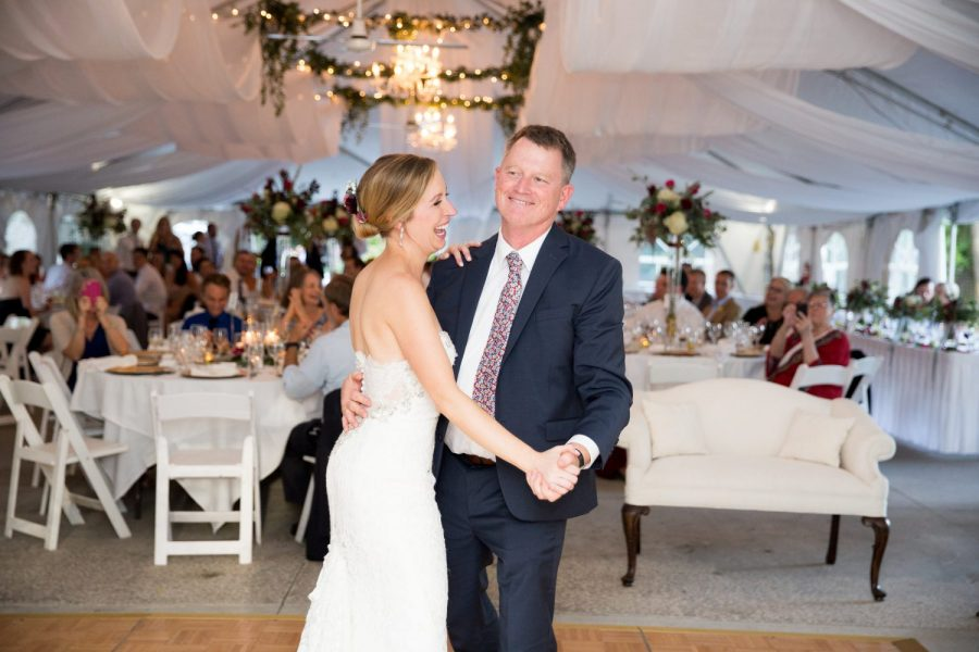 Bride and father dance- Record Entertainment