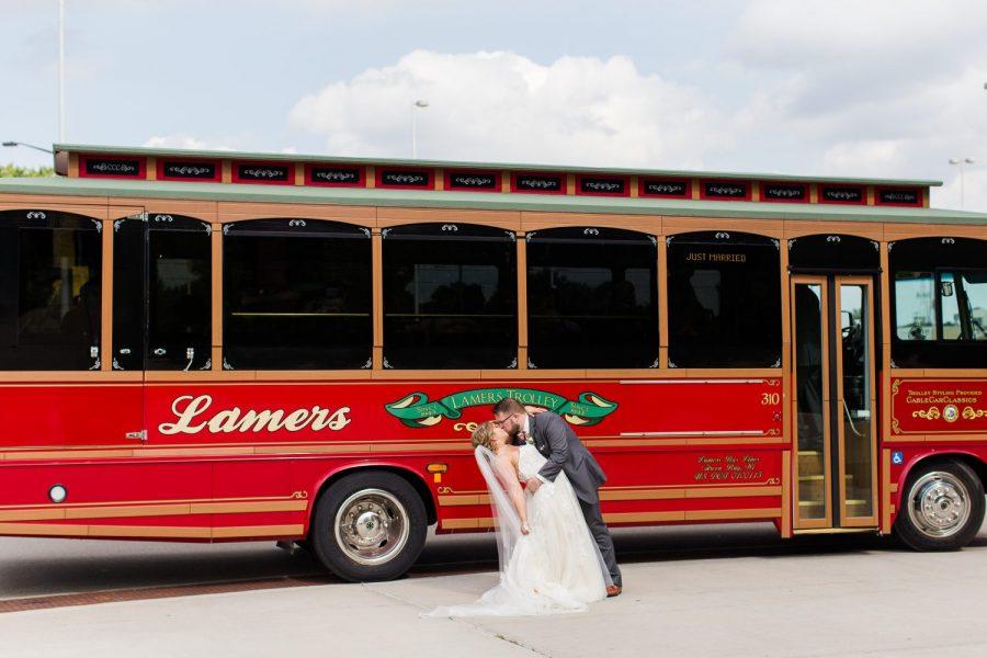 Lamers Trolley - Green Bay Weddings