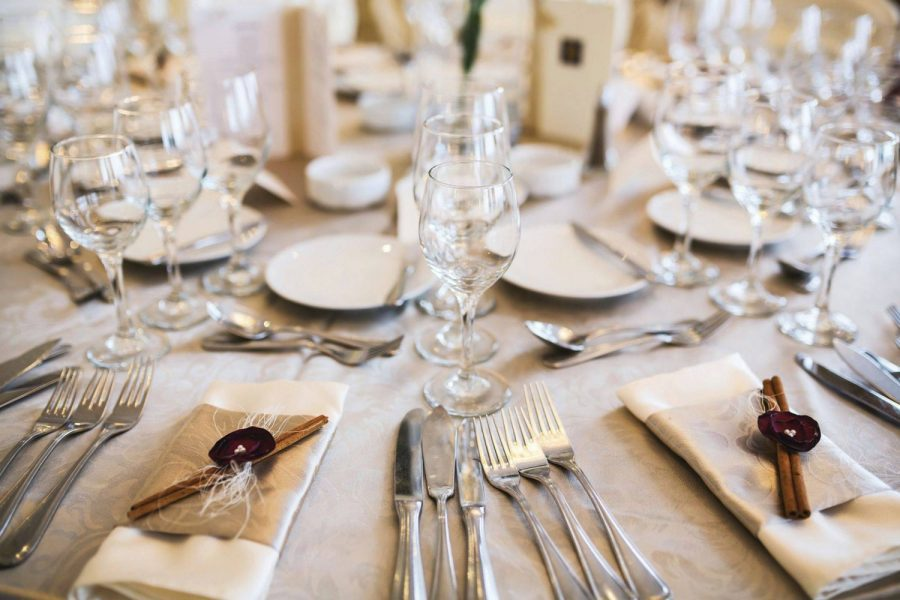Elegant Tablescape at the Grand Meridian in Appleton, WI