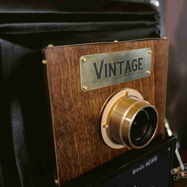 Vintage photo booth camera