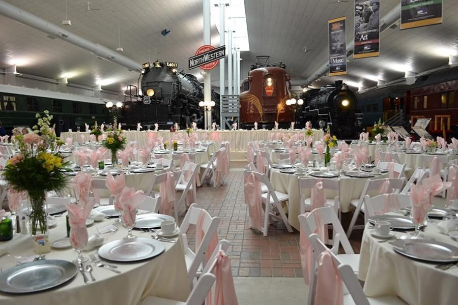 Wedding Reception at the National Railroad Museum
