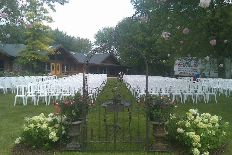 Chairs for garden ceremony- Rentals