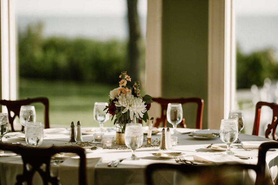 North Shore Golf Club Wedding Reception