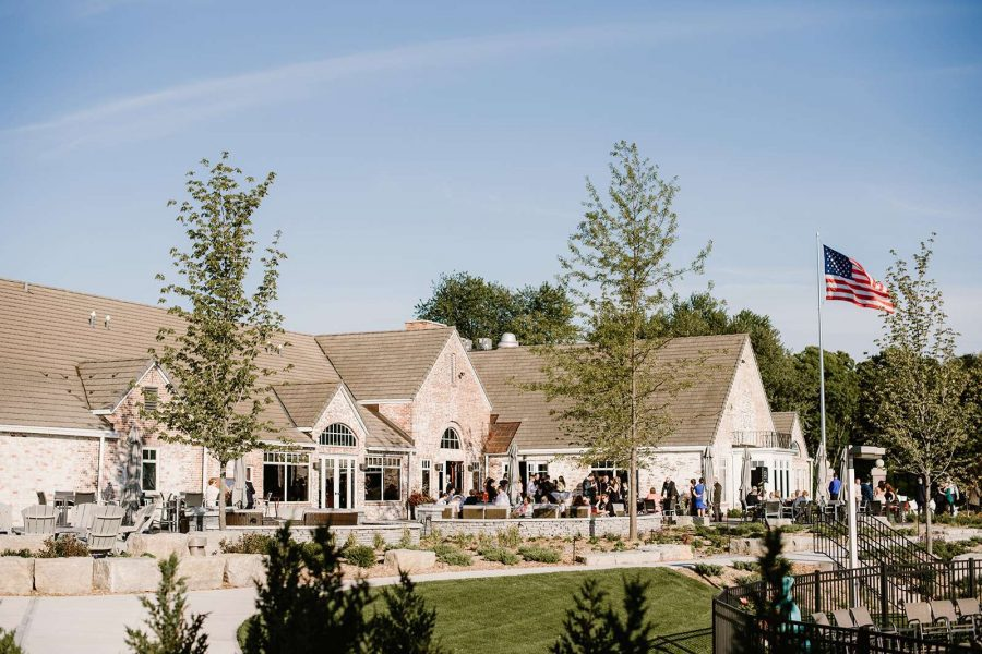 Wedding reception at the North Shore Golf Club