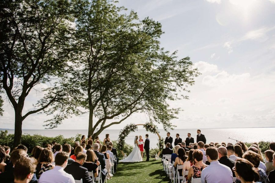 Wedding Ceremony at the North Shore Golf Club