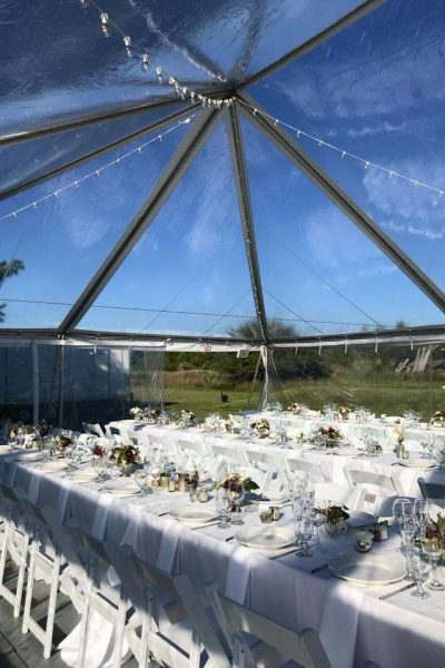 Clear Ceiling Tent