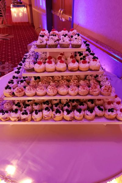 Cupcake display by Cupcake Couture of De Pere, WI