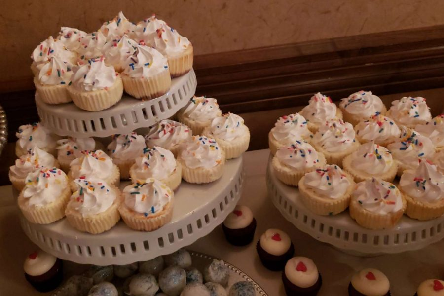 Mini cheesecakes with sprinkles by Cupcake Couture in De Pere , WI