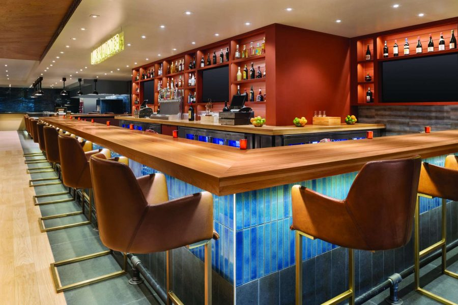 The new Duck Creek Kitchen & Bar at the Radisson Hotel and Conference Center in Green Bay