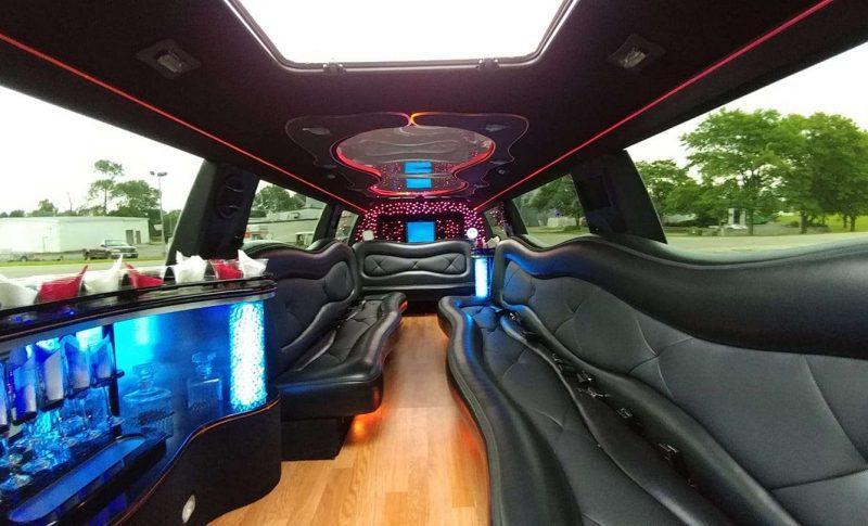 Heritage Limousine- NEWI wedding transportation