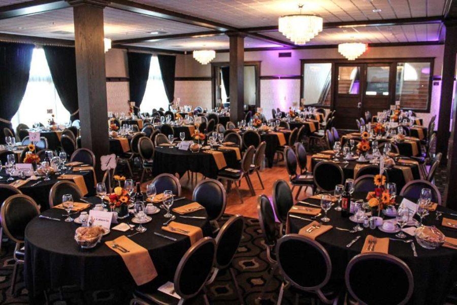 Wedding reception at Thelma Sadoff Center for the Arts