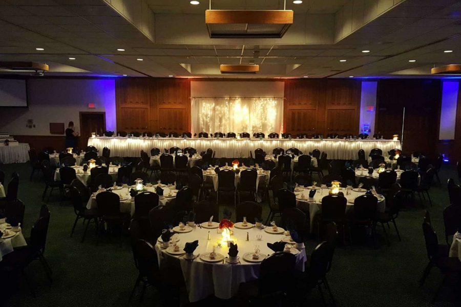 Wedding reception at the Par 5 Resort
