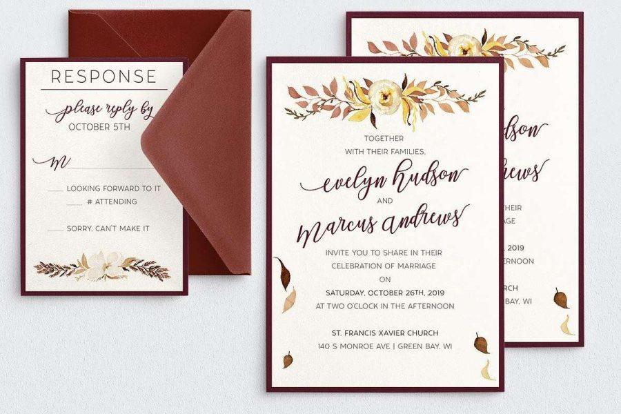 Pen Paper & Pixels Wedding Invitation Suite