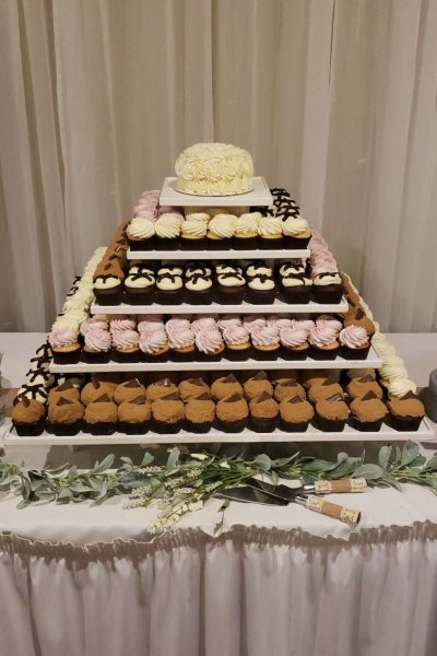 Cupcake tower by Cupcake Couture