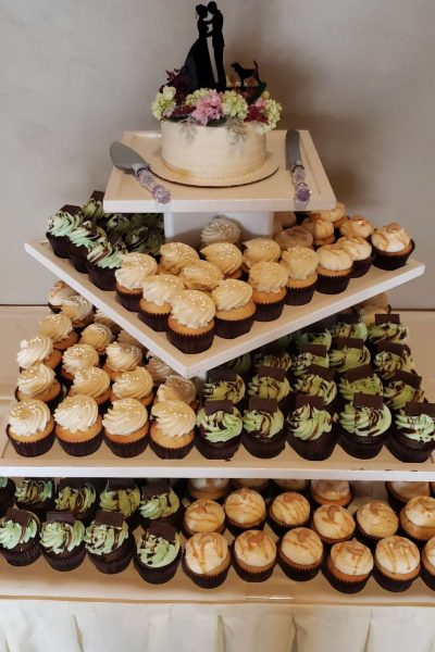 Cupcake display from Cupcake Couture