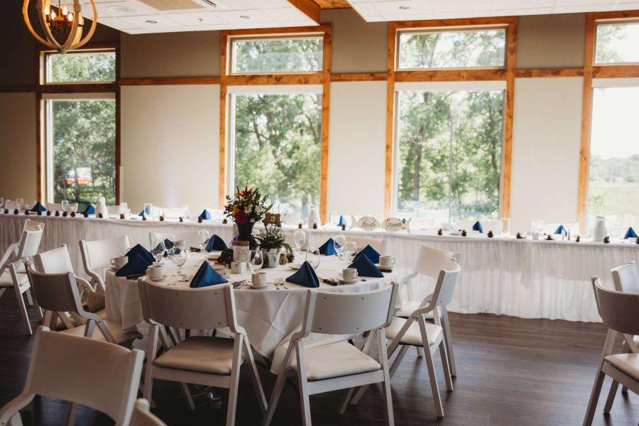Wedding Reception at the Gordon Bubolz Nature Preserve