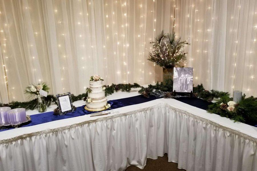 Cale table at Van Abel's of Hollandtown