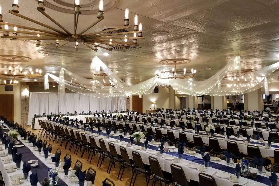 Elegant wedding receptions at Van Abel's