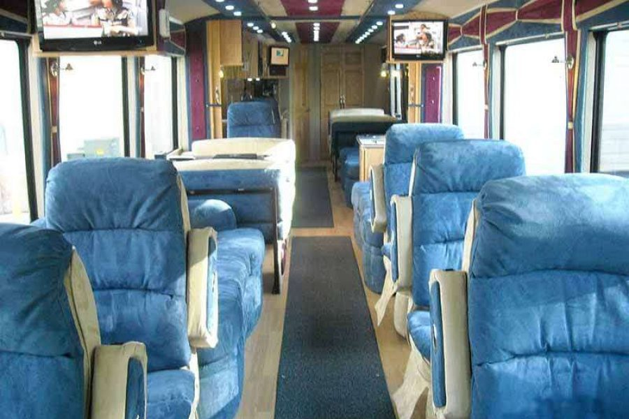 Interior of Lamers Executive Coach