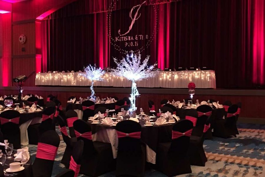 Wedding banquet at the Radisson Hotel and Conference Center in Green Bay