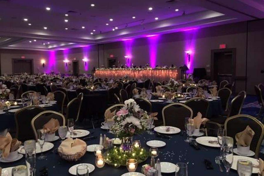 wedding reception at the Radisson Green Bay