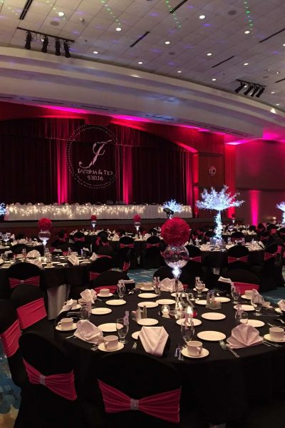 Dazzeling wedding at the Radisson Hotel and Conference Center in Green Bay
