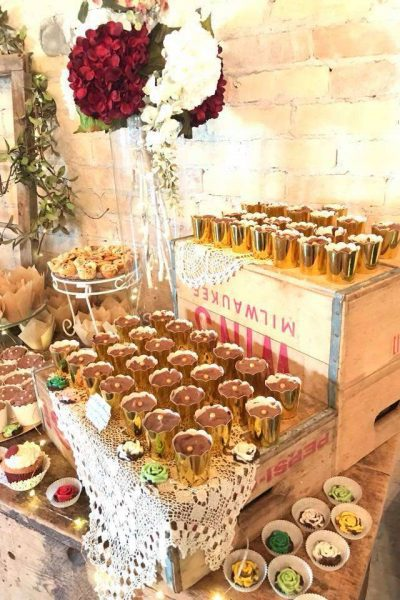 Sweets table at a Carstens Mill wedding
