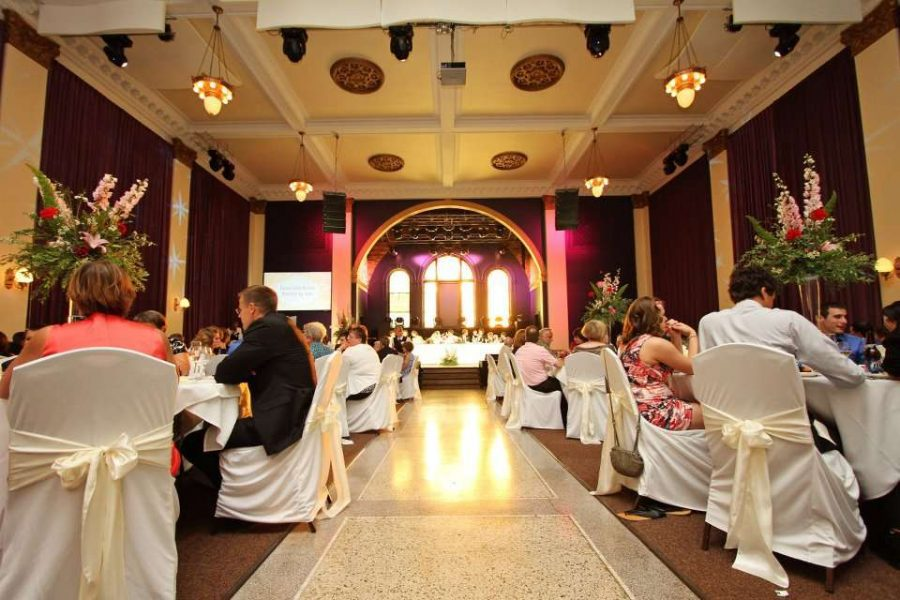 Wedding Reception at the Outer Edge in Appleton, WI